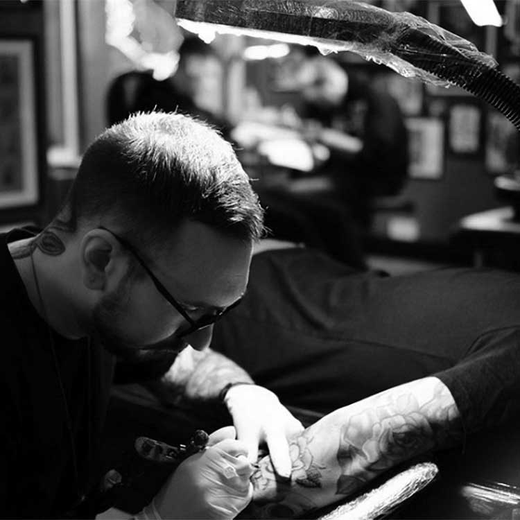 Gavin Rose_Royal Tattoo_Guest Artist